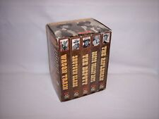 CLASSIC TV WESTERNS - 5 DIFFERENT B&W SHOWS! VHS TAPES