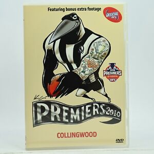 AFL Collingwood Premiers 2010 DVD Football Magpies GC Free Tracked Post