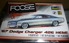 REVELL 85-4051 1967 DODGE CHARGER FOOSE HEMI 1/25 MODEL CAR MOUNTAIN FS