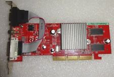 SCHEDA VIDEO AGP ASUS ATI RADEON 9250 128MB DDR DVI VGA TV-OUT GRAPHIC CARD AGP