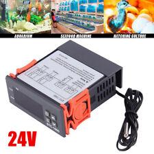 24V STC-1000 Digital Temperature Controller Temp Sensor Thermostat Controls UK