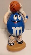 M&M blue peanut basketball Candy Dispenser