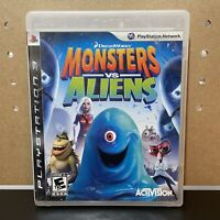 Monster VS Aliens DreamWorks Activision 2009 Sony PS3 Tested