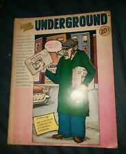 notes from underground the psychedelic cookbook magazine 3 beat poets ginsberg