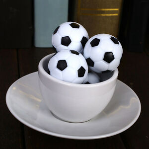 4Pc 36mm Soccer Table Foosball Replacement Plastic Ball Football Fussball Fast