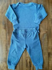 Patagonia Baby Capilene Midweight Baselayer Blue Striped 12 Months Baby
