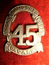 45th Cavalry Indian Armoured Corps Cap Badge, WW2 Indian Army