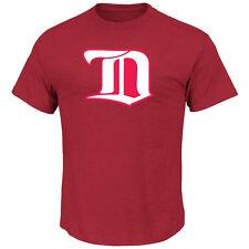 NHL T-Shirt Detroit Red Wings Vintage Tek Patch Logo Majestic Eishockey