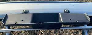 99-03 OEM Ford Windstar Front Bumper License Plate Bracket XF2Z-17A385-AAA Used