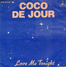 "COCO DE JOUR – Love Me Tonight (1982 DISCO VINYL SINGLE 7"" HOLLAND)"