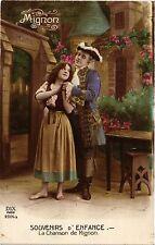 Souvenirs d'Enfance-La Chanson de Mignon CPA ARTISTE THEATRE STAR (319510)