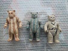 Lot Ewoks / Star Wars vintage Kenner ROTJ Action figure 3 Figurines 83*