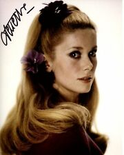 CATHERINE DENEUVE signed autographed photo