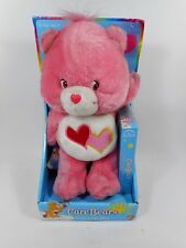 CARE BEARS LOVE-A-LOT BEAR PLAY ALONG SET W/VHS TAPE NEW MIP 2002
