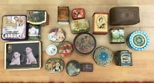 More details for job lot 20 old tins huntley & palmers holland vincent tea coffee toffee tins etc