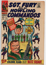 Sgt. Fury and His Howling Commandos #41 (1967, Marvel) 8.5 VF+