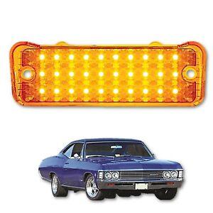 1966 66 Chevy Impala Bel Air Biscayne LED Park Light Lamp Turn Signal Lens Each