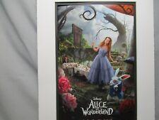 Disney Movie Poster Alice in Wonderland 2010  Walt Disney Studios Color #4