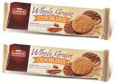 2x Lambertz Whole Grain Cookies Vollkornkeks mit Vollmilchschokolade  400g