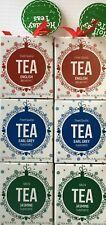 Holiday Teas English Breakfast, Earl Grey, Jasmine Tea Tower Gift 2 Set 72 Bags