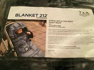 7 A.M. Enfant Blanket 212 Evolution Metallic Grey