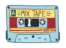 "Mixtape Old School Decal Bumper Sticker Retro Mix Tape 8"""