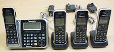 Panasonic Kx-Tg7875S 4 Handset Cordless Telephone with Answering Machine
