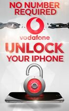 1-5 DAYS UNLOCK SERVICE FOR IPHONE X FOR VODAFONE UK