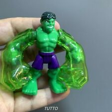 Playskool Marvel Super Hero Adventures  Hulk Action Figures POWER UP Kids Toys