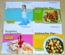 Weight Watchers Plan hartazgo Set 4x start-broschüren perfecto para Inicio 2014