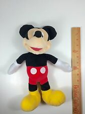 DISNEY'S Vintage 14' Mickey Mouse Stuffed Plush Character