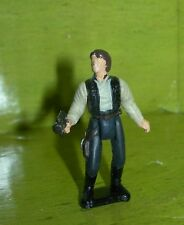 Star Wars Micro Machines Action Fleet HAN SOLO with Blaster Figure 1996