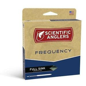 SCIENTIFIC ANGLERS FREQUENCY WF-6-S #6 WEIGHT TYPE 3 FULL SINKING FLY LINE