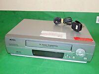 JMB JMBD1020 VCR VHS VIDEO CASSETTE RECORDER Vintage Silver Fully Tested