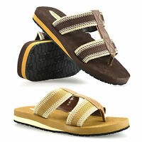 Mens Gladiator Sandals Summer Beach Cushioned Walking Flip Flop Mules Shoe Size
