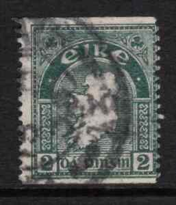 Ireland 1922/34 KGV 2d Grey Green Coil stamp SG 74a Cat £85 Used