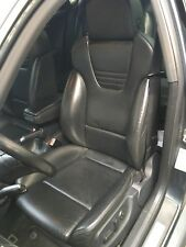 2004-2005 B6 Audi S4 A4 Recaro Seats - Heated Power Black Leather