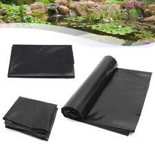 5'x10' HDPE Pond Liner Heavy Duty Landscaping Garden Pool Waterproof Liner