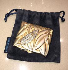 Estee Lauder Golden Compact Lucidity Powder w/Crystals