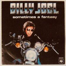 Pochette Moto  45 tours Billy Joel Sometimes a fantasy 1980