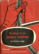 RENAULT DAUPHINE BERLINA incl GORDINI & FLORIDE Coupe Cabrio' 57-66 Riparazione Manuale