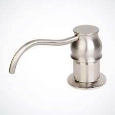 NEW Brushed Nickel Contemporary Soap Dispenser Kitchen Faucet Sink Lotion Pump