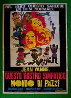 M28 Manifesto 2F Questo Unser Süße Welt Von Verrückt Jean Yanne