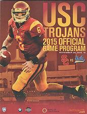 2015--USC  TROJANS v.  UCLA BRUINS--FOOTBALL PROGRAM--NMT