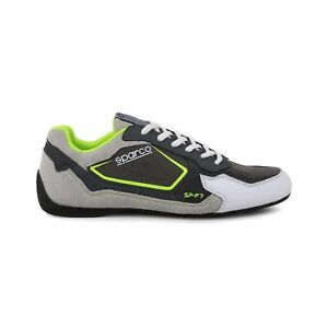 Sparco SP-F7 Grey/Green Shoes Sneakers