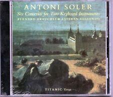 ANTONI SOLER - SIX CONCERTOS - BERNARD BRAUCHLI / ELIZONDO - CD NUOVO SIGILLATO