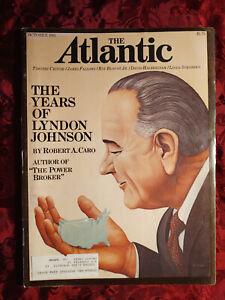 ATLANTIC magazine October 1981 Linda Svendsen David Halberstam James Fallows