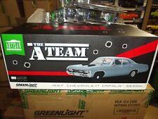 Greenlight 1/18 A team 1967 Chevrolet impala sedan  00004000 Nib