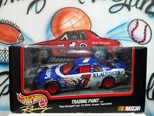 Diecast 1/24 NASCAR Hot Wheels Racing Trading Paint Phillips Klaussner #7 Car