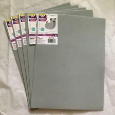 Darice Foamies Grey, 5 Count, 9� x 12�, 2mm